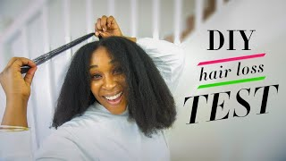 EXCESSIVE SHEDDING NATURAL HAIR? Proven Way to Test if You're ACTUALLY losing hair!