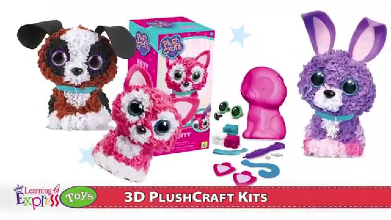 Top Toys Plushcraft 3d Kits Youtube