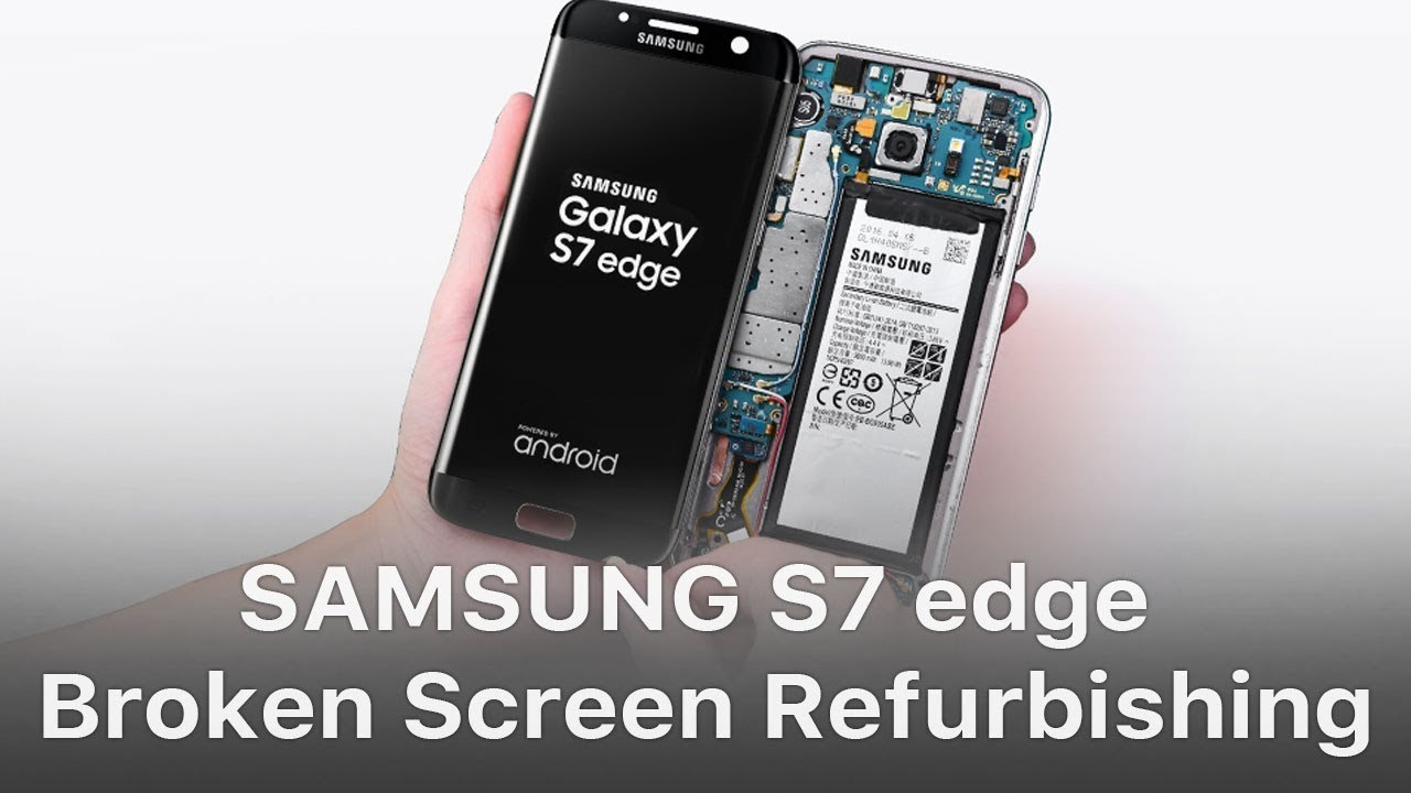 samsung galaxy s7 edge cracked screen repair near me