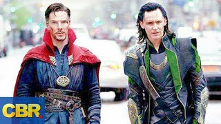 Loki And Doctor Strange Might Be Working Together In Marvel Avengers Endgame