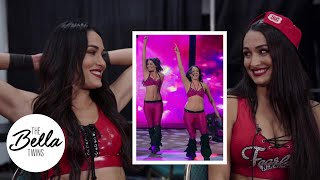 The Bella Twins LAUGH at their FIRST-EVER tag match! | Bella Playback