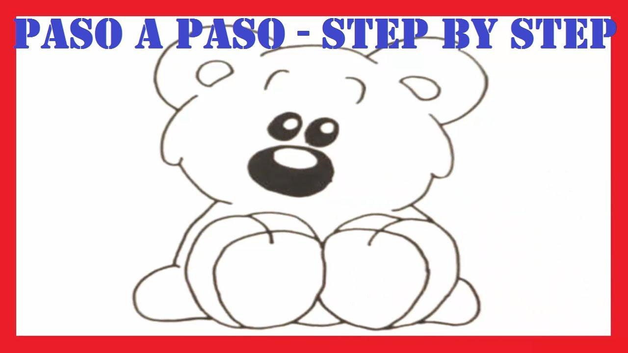 Como dibujar un Oso de Peluche l How to draw a Teddy Bear l Dibujos ...