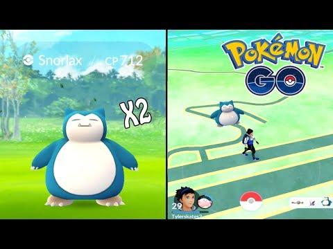 pokémon-go-|-wild-snorlax-+-100%-iv-eevee!-rare-hunting-ep.-4