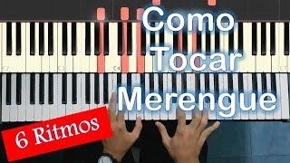 How to Play Merengue on Piano / MoroMusicPiano