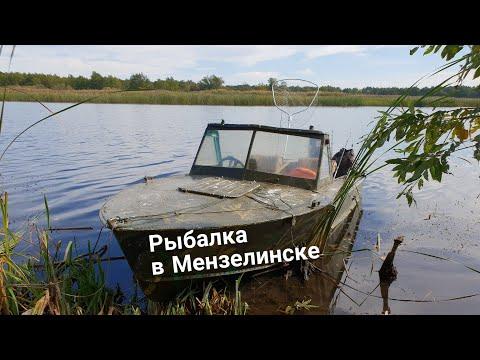 Рыбалка в Мензелинске. Республика Татарстан.