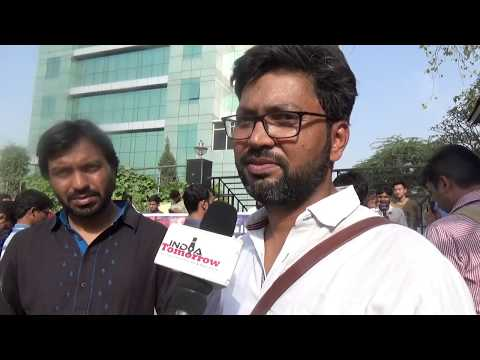 Protest held at Jharkhand Bhawan against mob lynching
