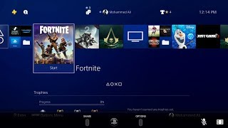 PS4 Remote Play Fortnite Battle Royale Gameplay #1