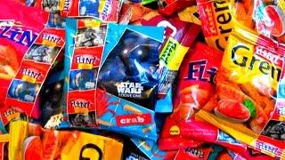 Сухарики Flint Звездная битва. Распаковка ящика сухариков Флинт Звёздные Войны