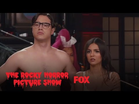 Riff Raff And Magenta Undress Brad And Janet | THE ROCKY HORROR PICTURE SHOW