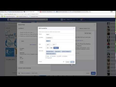 How To Targeting Countries, Gender, Age Using Facebook Advertising | Digital Marketing Help