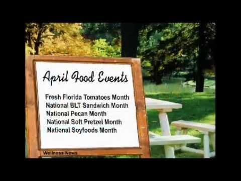 April News, Events and Resources in Nutrition, Food, and Health