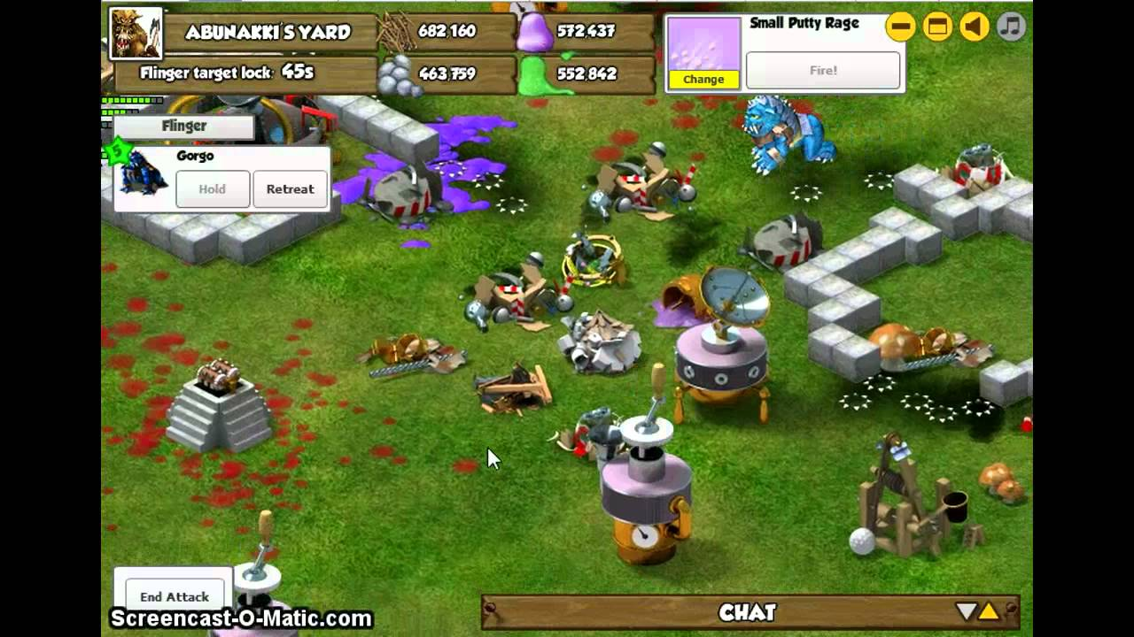 backyard monsters gorgo level 5 youtube