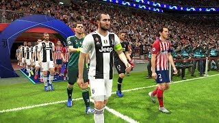 Atletico Madrid vs Juventus - UEFA Champions League 20 February 2019 Gameplay
