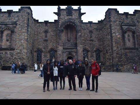 ALC students visit GCU's Glasgow campus