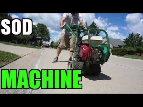 """(Episode#62)""""Sod Cutter Machine"""" & Pricing - Landscaping Employee Trap 