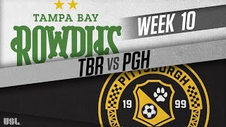 Tampa Bay Rowdies vs Pittsburgh Riverhounds: May 19, 2018