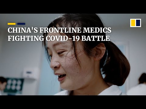 Rare Look At Medical Staff In China's Central City Of Wuhan On Front Lines Of The Coronavirus Fight