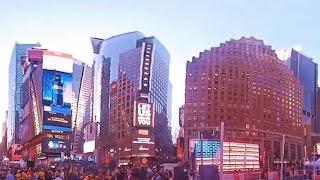 Download Video Times Square walk, Manhattan, New York City 360 view MP3 3GP MP4