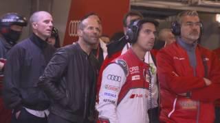 Jason Statham Visits Audi at Le Mans 2016