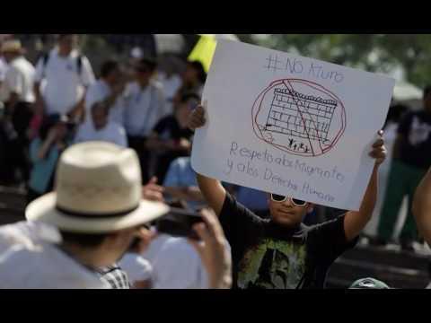 Mexico City mayor lays foundation stone of $5 million JCC