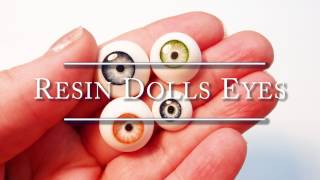 Resin and polymer clay - Dolls eyes Tutorial