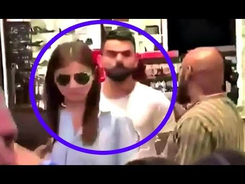 Virat Kohli And Anushka Sharma Shopping Video In Cape Town