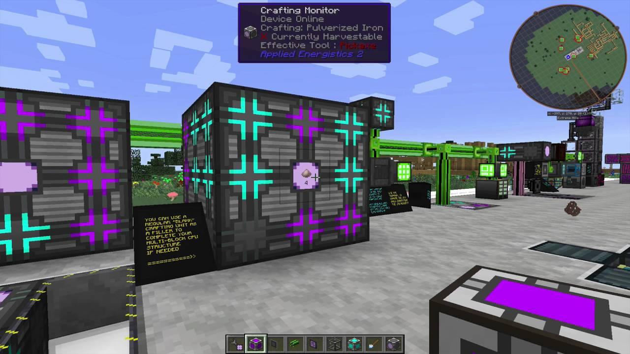 Tutorial Ae2 Part 3 Autocrafting Youtube