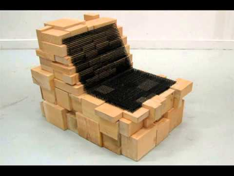 Chairs made from recycled materials youtube What are chairs made of