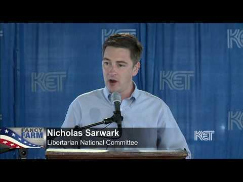 Nicholas Sarwark, Libertarian Party | Fancy Farm 2017 | KET