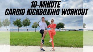 10 min Cardio Kickboxing Workout |10dk Kardiyo Kickbox Antrenmanı | FITINSANE |
