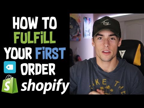 How To Fulfill Orders With Oberlo and AliExpress | Shopify Dropshipping 2019 thumbnail