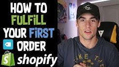How To Fulfill Orders With Oberlo and AliExpress | Shopify Dropshipping 2019