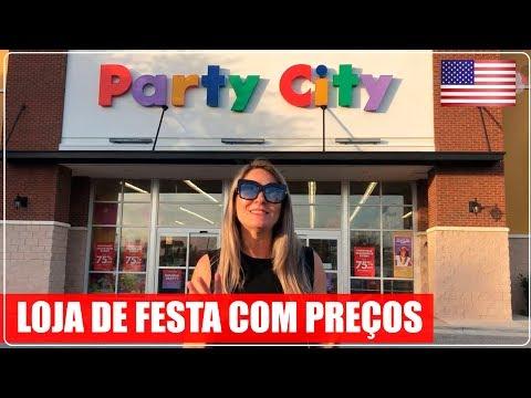 PARTY CITY - Maior loja de artigos para Festa e Fantasia dos Estados Unidos