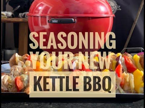 How To Season Weber BBQ Kettle