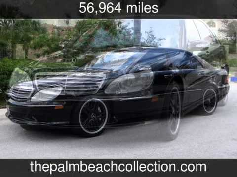 2006 mercedes benz s65 6 0l amg used cars west palm for Mercedes benz west palm beach used