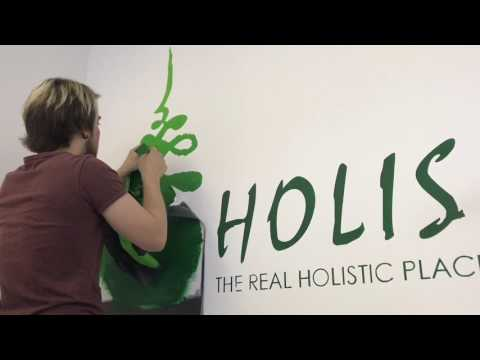 How to create an EASY WALL PAINTING TUTORIAL!