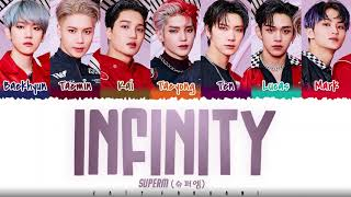 SuperM - 'INFINITY' Lyrics [Color Coded_Han_Rom_Eng]
