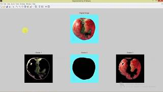 Matlab Code for Fruit Diseases Detection and Classification Using K means Clustering