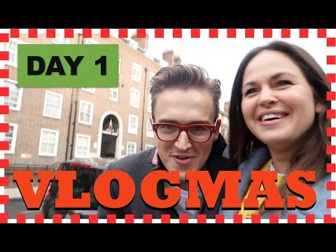 VLOGMAS DAY 1: We're in Rehearsals!