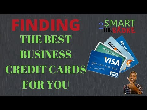 How To Find The Best Credit Card | Building Business Credit