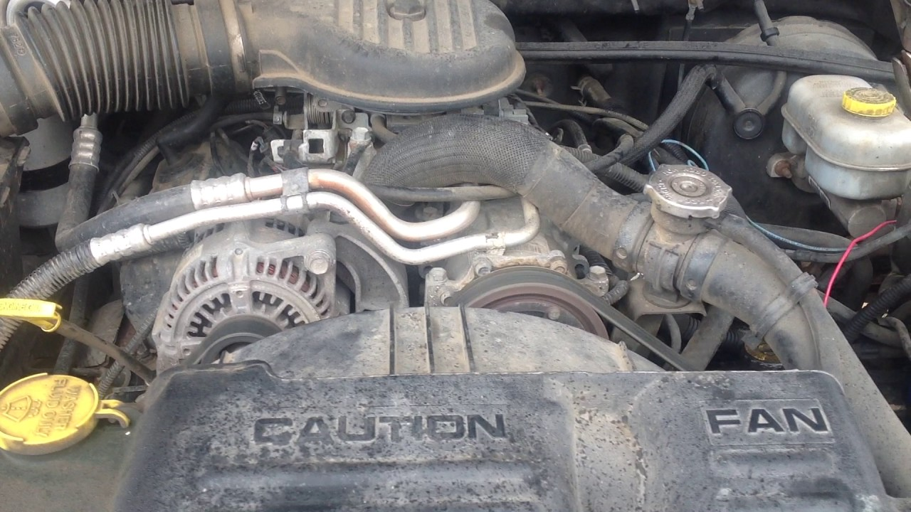 2001 Dodge Dakota Engine 39 L V6