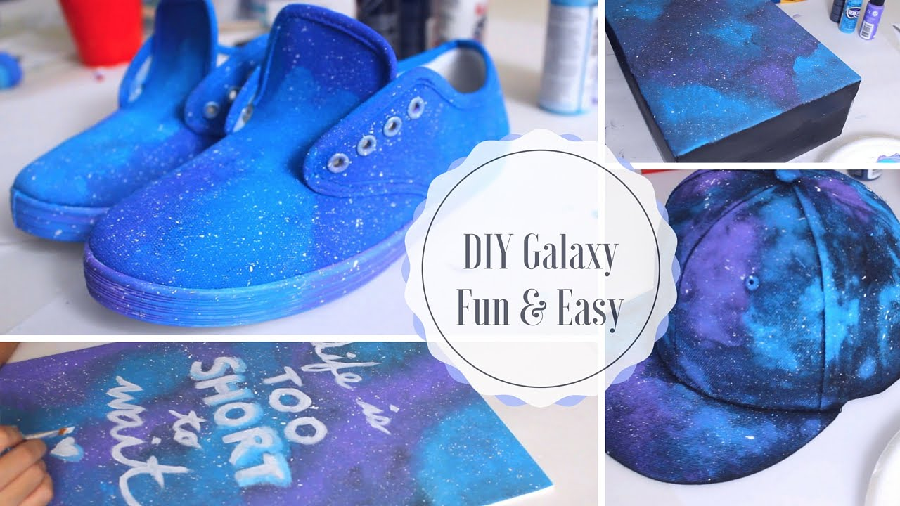 Diy Galaxy Wall Decor : Diy galaxy projects you have to try easy fun