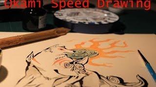 Speed Drawing : Okami
