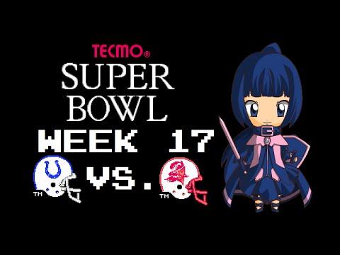 Tecmo Super Bowl (NES) - Indianapolis Colts - Week 17