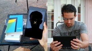 Google Glass: Nexus 7 (2nd Generation) Unboxing & Hands On!
