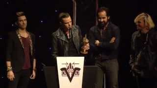 The Killers Win Best International Band At The NME Awards 2013