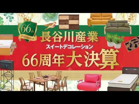 【スイートデコレーション】 長谷川産業 66周年大決算 【CM ...
