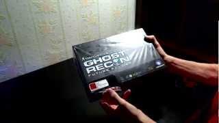 Розпакування/Анбоксинг Ghost Recon Солдат Майбутнього Колекційне Видання X360 Так
