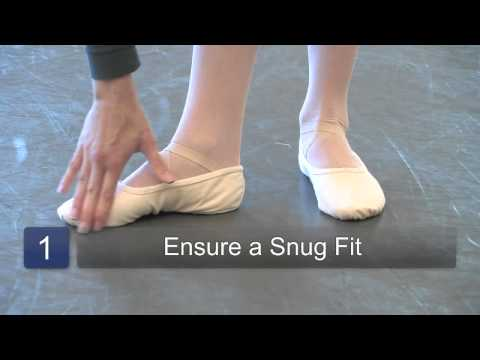 How to Wear Ballet Shoes