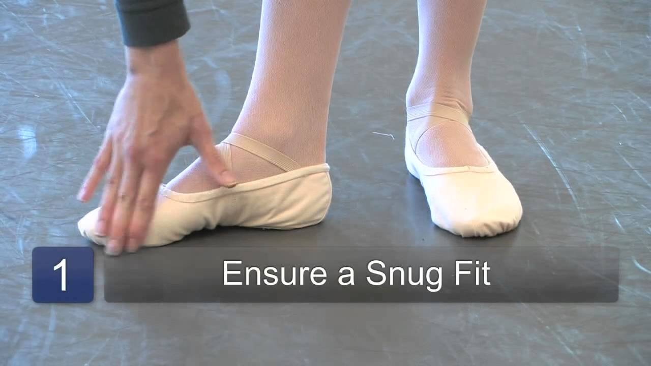How To Wear Ballet Shoes YouTube - Abt ballet shoes